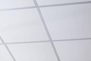 beyaz aluminyum asma tavan